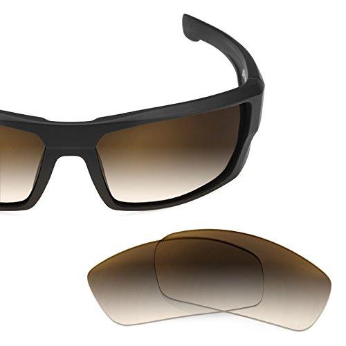 Verres de rechange pour Spy Optic Dirty Mo — Plusieurs options Brun Gradient - Non-Polarisés