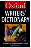 The Oxford Writers' Dictionary, , 0192826697