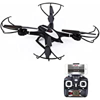LandFox MJX X401H Wifi FPV 0.3MP HD Camera RC Drone w/ Dual Mode Altitude Hold RTF,Black