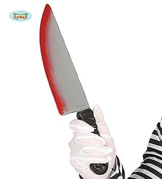 Guirca Cuchillo con Sangre 37 Cm: Amazon.es: Juguetes y juegos