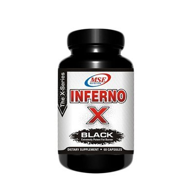 o-X Black: Extremely Potent Fat Burner, 60 capsules ()
