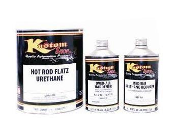 Desert Storm Tan - Medium Reducer, Hot Rod Flatz by Custom Shop Urethane Automotive Flat Matte Car Paint, 1 Quart Kit by Custom Shop (Image #3)