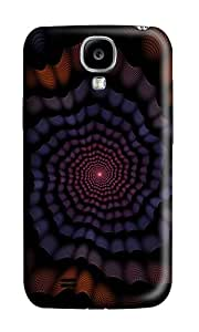 Samsung S4 Case,VUTTOO Cover With Photo: Light In Spiral Dark For Samsung Galaxy S4 I9500 - PC Hard Case