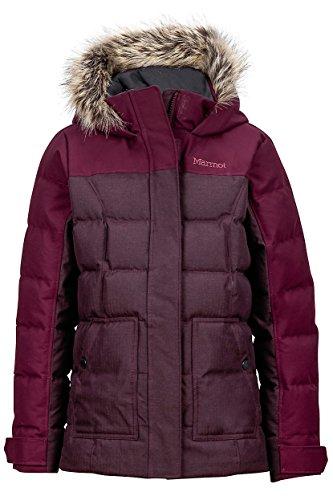 Marmot girls Logan Jacket 58980-6765_S - Dark Purple by Marmot