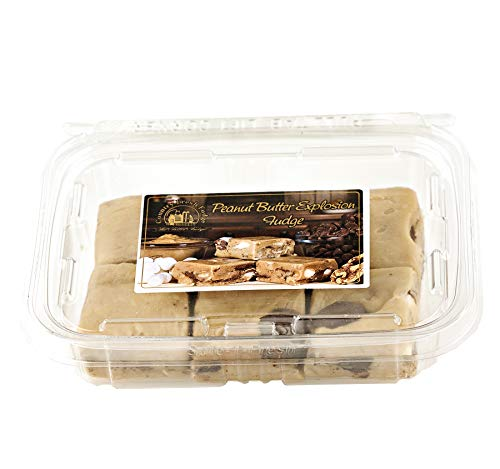 Country Fresh Rich & Creamy Fudge: Choice of Seven Specialty Fudge Varieties- Two 12 oz. Trays (Peanut Butter Explosion)