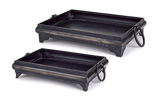 Park Avenue Collection Decorative Tray (Set of 2)