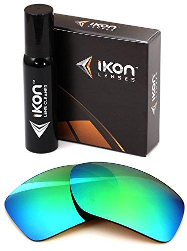 Polarized IKON Replacement Lenses For Maui Jim Peahi MJ-202 Sunglasses - Emerald - Jim Green Sunglasses Maui
