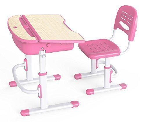 Ergonomic Desk & Chair Pink Wymo WY-C301P