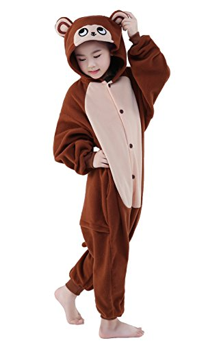 CANASOUR Unisex Monkey Party Children Cosplay Pyjamas (115#,