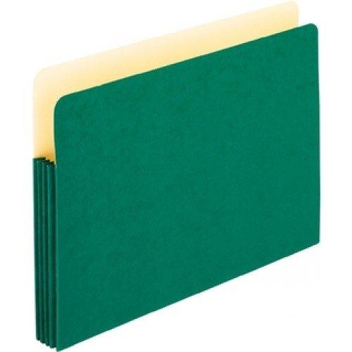 Pendaflex 1526EG-OX Color File Pockets, Legal Size, Green...
