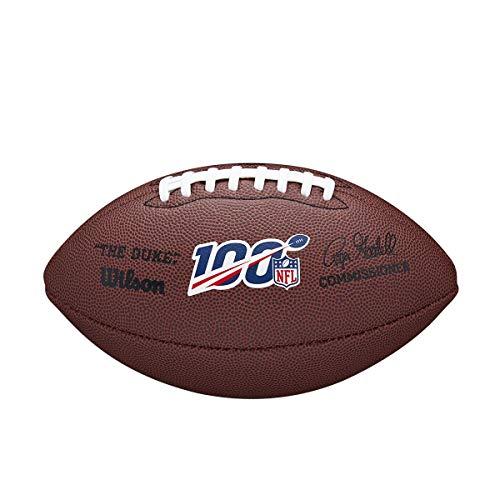 Wilson NFL 100 The Duke Replica Composite Football - Official Size