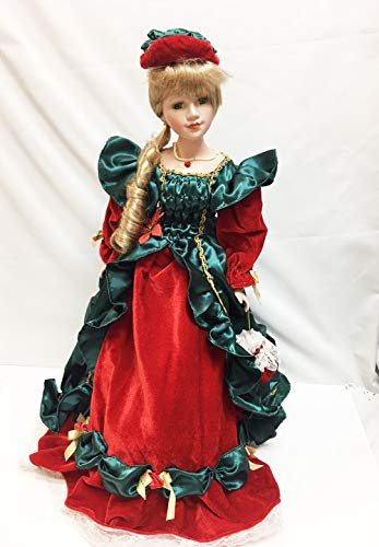 "Show Stoppers Timeless Holiday Porcelon 22"" Doll for sale  Delivered anywhere in USA"