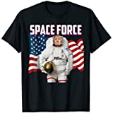 Patriotic Space Force American Flag Trump Shirt