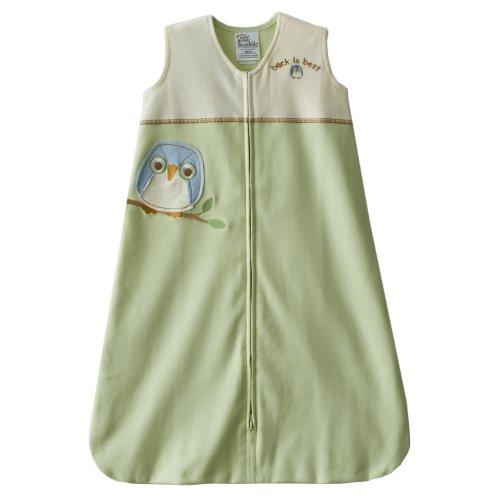 HALO SleepSack 100% Cotton Applique Wearable Blanket, Lime Green, Medium, Baby & Kids Zone