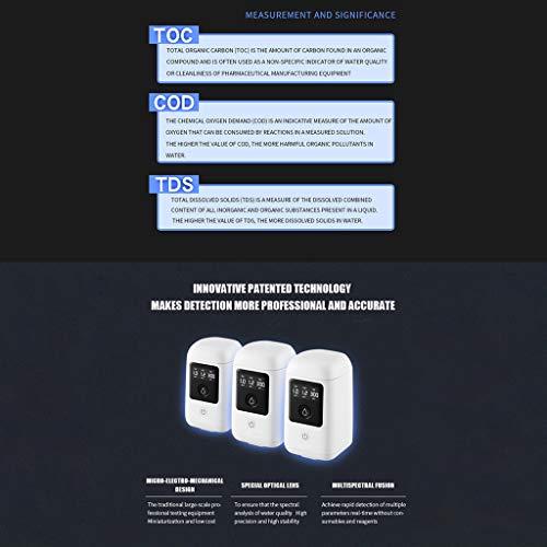 FiedFikt COD Detector de Calidad de Agua Potable Agua del hogar ...