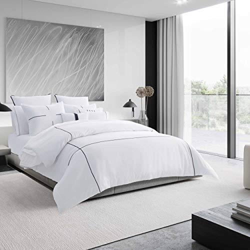 Vera Wang Zig Zag Comforter Set, White