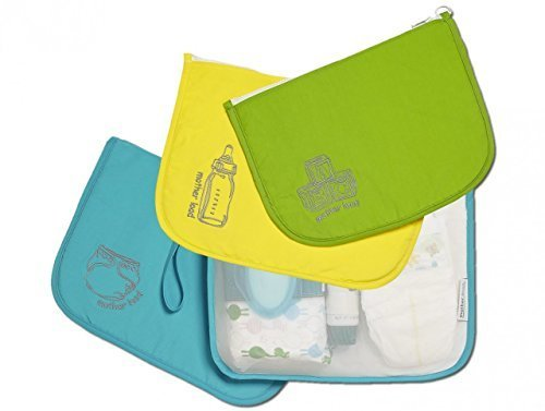 Mother Load Time on Your Side Gift Set: includes Diaper Bag, Snack Bag, and Toy Bag by Mother Load by Mother Load