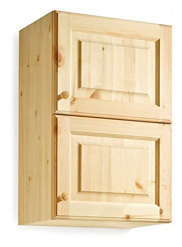 Pensile cucina da L45 2p- anta legno e anta vetro - MOBILE GREZZO ...