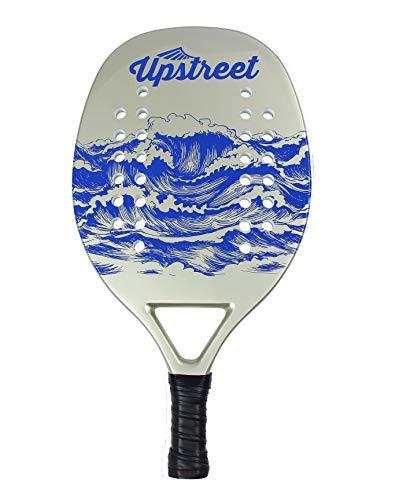 Amazon.com : Upstreet Beach Tennis Paddle | Carbon Fiber ...