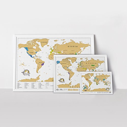 Amazon scratch map travel map travel sized personalized amazon scratch map travel map travel sized personalized scratch off world map poster manufactured in the uk office products gumiabroncs Gallery