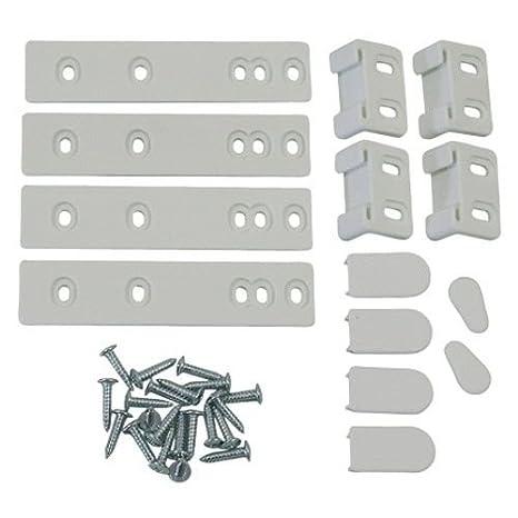Universel Kit De 4 Glissieres Refrigerateur Integrable 2367131725 2367131725