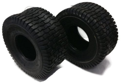 Set of 15X6X6 Turf Tires 4 ply Qyt of 2 Garden Tractor Lawn Mower Riding Mower by - Tire Arnold