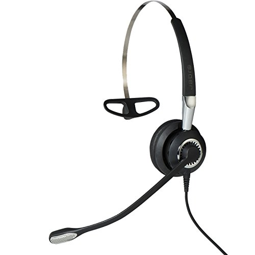 Jabra 2400 II USB MONO CC Wired Headset - Black by Jabra