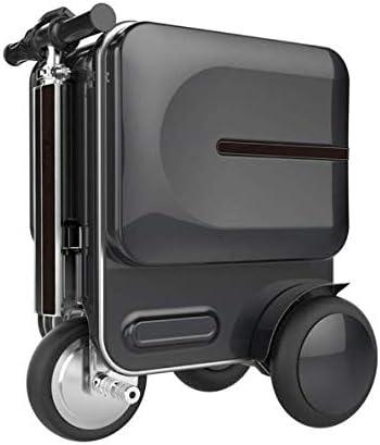 TINGTING Equipaje Inteligente de 20 Pulgadas Cabina con Equipaje Auto-Follow Maleta de Viaje ABS Equipaje de Mano con Bloqueo TSA