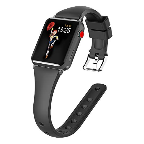 Panrock Compatible for Apple Watch Bands 38mm 4...
