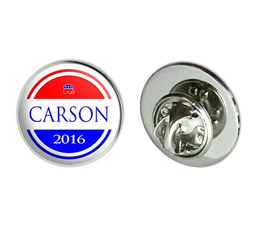 Carson Republican President Round Pinback