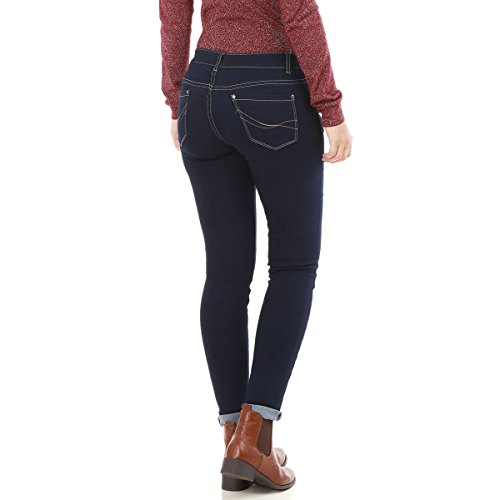 Femme Bleu Coupe Modeuse Jeans Slim La wz7qYIxZZ