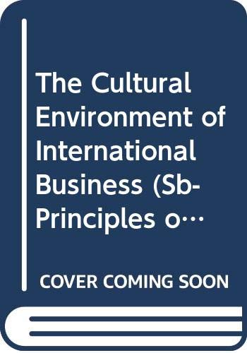 The Cultural Environment of International Business (Sb-Principles of Marketing)