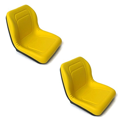 The ROP Shop (2) HIGH Back Seats for John Deere Gator UTV 4x2 6x4 Diesel Trail Worksite Turf