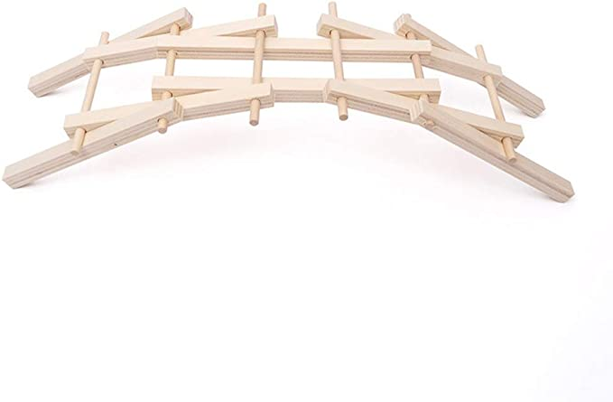 LOL lo Madera Construcción Modelo Kit Arco Puente Madera Asamblea Modelo Ciencia y Educación Juguetes: Amazon.es: Hogar