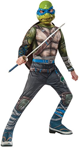 Rubie's Costume Kids Teenage Mutant Ninja Turtles 2 Value Leonardo Costume, (Kids Leonardo Costumes)