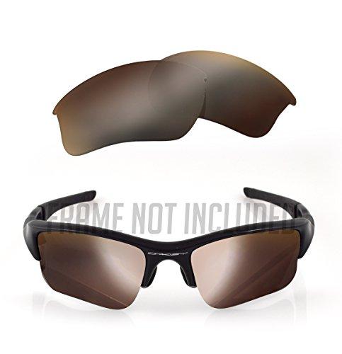 1e5cf2a0b1 LenzFlip Polarized Replacement Lenses for Oakley FLAK JACKET XLJ Sunglass -  Multiple Colors