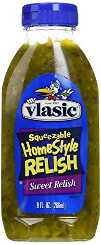Vlasic, Home Style Sweet Relish, 9-Ounce Bottle (Pack of 3) ()