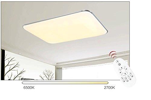 Plafoniere Ultra Sottile Salotto : Sailun 96w ultra sottile led regolabile plafoniera moderno lampada