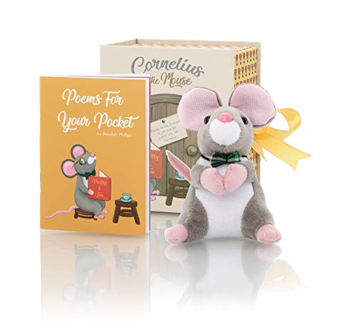 Farlee and Friends Cornelius The Mouse ~ Plush Toy with Booklet of Original Children's Poetry