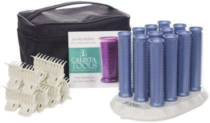 Calista Tools Ion Hot Rollers Long Style Set 12 Base