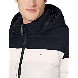 Tommy Hilfiger Men's Classic Hooded Puffer Jacket (Regular and Big & Tall Sizes)