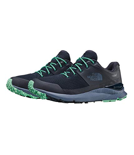 The North Face Women's Vals Waterproof, Urban Navy/Ice Green, 9 M