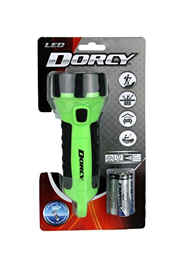 Dorcy-41-2510-Floating-Waterproof-LED-Flashlight-with-Carabineer-Clip-55-Lumens