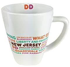 These Limited edition mugs not only keep your Dunkin Donuts coffee hot but show off your pride for your city or state