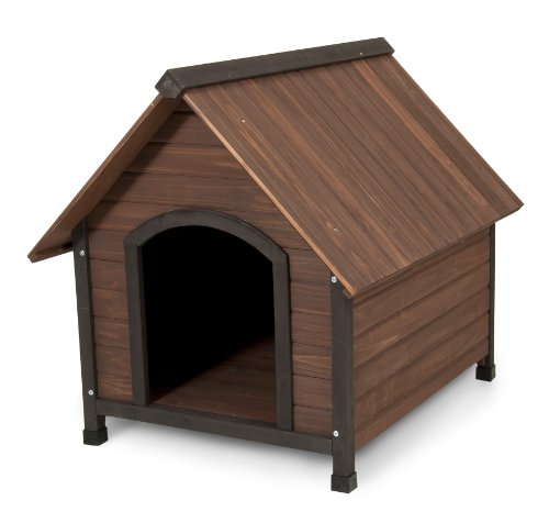 Aspen Pet Ruff Hauz Off Set Door Dog House