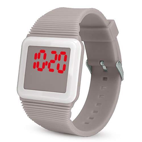 iNoDoZ Sport Kids Outdoor Digital LED Silicone Watch Wristwatch Bracelet for Children Kids ()
