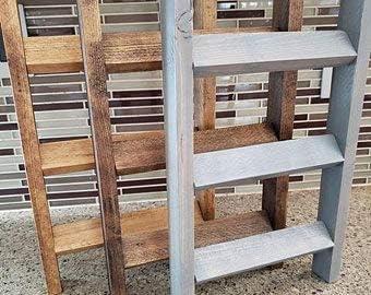 Rea66de - Mini Escalera de Granja, toallero, decoración de Cocina, Escalera de Toalla de té: Amazon.es: Hogar
