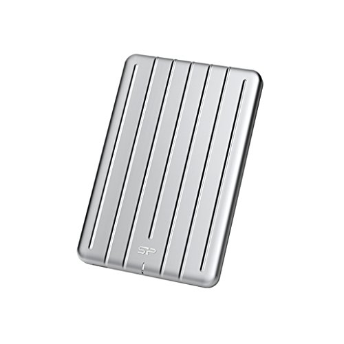 Silicon Power 240GB B75 Portable External SSD - USB3.1 Type-C - Aluminum by Silicon Power