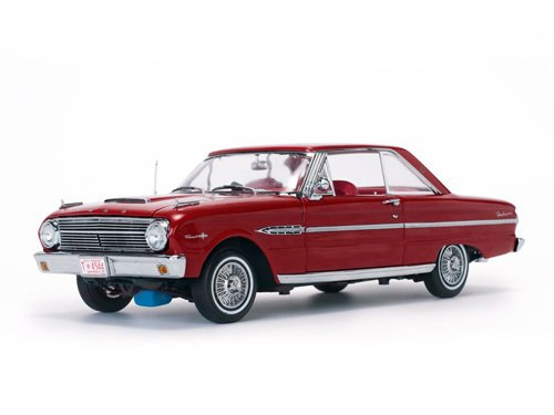 Sunstar Diecast Cars (1963 Ford Falcon Hard Top Rangoon Red 1/18 Diecast Model Car by Sunstar 4544)