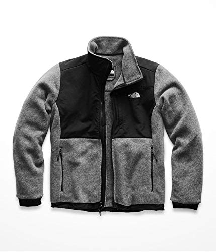 The North Face Denali 2 Jacket - Women's TNF Medium Grey Heather/TNF Black Large